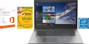 Lenovo Ideapad 330-17IKB Notebook (43,9 cm/17,3 Zoll, Intel Pentium, 1000 GB HDD, inkl. 3 Jahren Garantie, Office 365 Personal und Norton Internet Security)