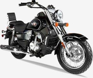 UM Motorrad »Renegade Classic«, 125 ccm, 90 km/h, Euro 4