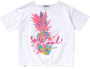 T-Shirt mit Ananasprint Gr. 176 Mädchen Kinder