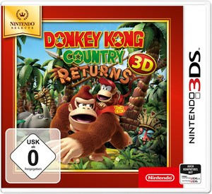 Nintendo 3DS Donkey Kong Country Returns Selects 3D