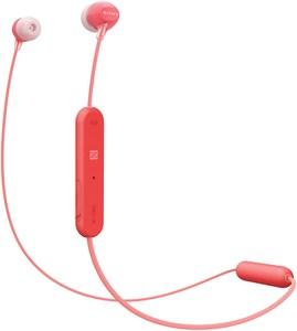 Sony WI-C300 Kopfhörer (drahtlos) rot