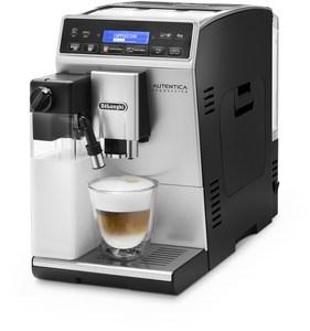 DeLonghi ETAM 29.660.SB Autentica Cappuccino Kaffee-Vollautomat silber/schwarz
