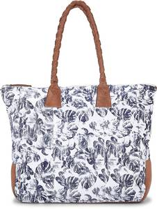 Canvas-Shopper von Cox in blau für Damen