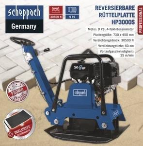 Scheppach Reversierbare Rüttelplatte HP3000S