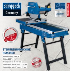 Scheppach Steintrennmaschine HSM3500