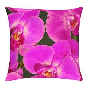 Kissenhülle Orchidee - Lila - 49 x 49 cm, Apelt