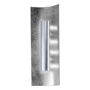 EEK A, Wandleuchte Aura Silber - Metall / Glas - Silber - 3-flammig, Hans Kögl