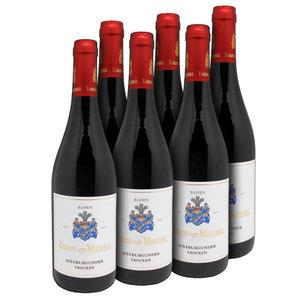 Baron von Maydell Spätburgunder Pinot Noir QbA Baden 2015 - 6er Karton