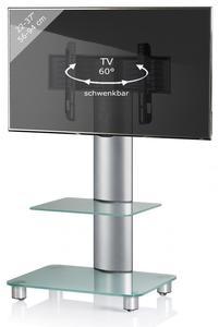 VCM TV-Standfuß Bilano mit Zwischenboden