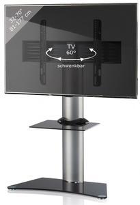 VCM TV-Standfuß Zental mit Zwischenboden