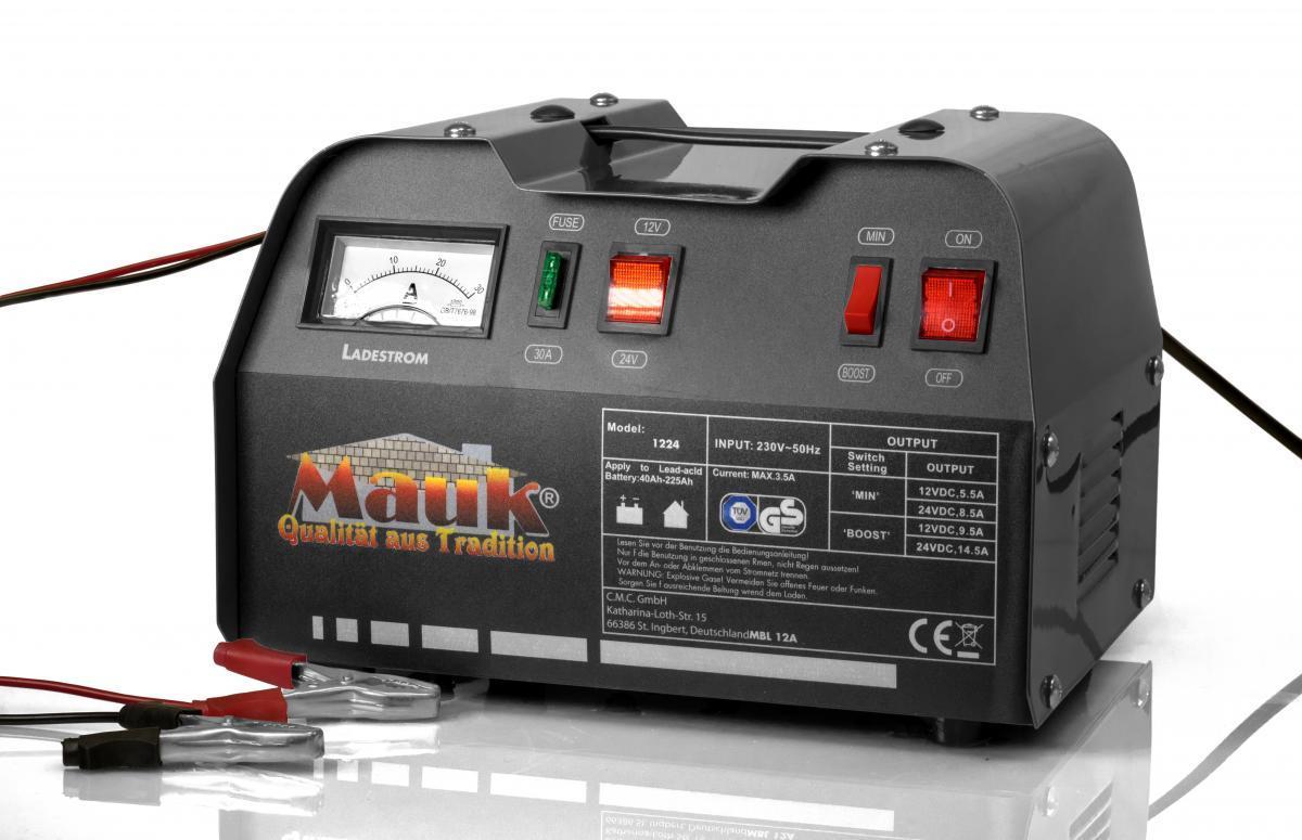 Bild 1 von MAUK 12V - 24V 12A Batterieladegerät