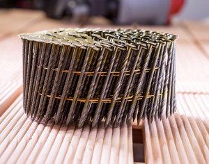 Mauk Munition für Druckluft Coil Nagler MCN55 , twist shank; Spiralschaft, 2,3x57mm, 300 Stk. pro Gu