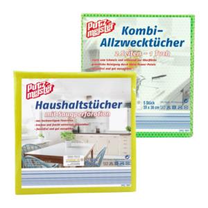 PUTZMEISTER     Kombi-Allzwecktücher / Haushaltstücher