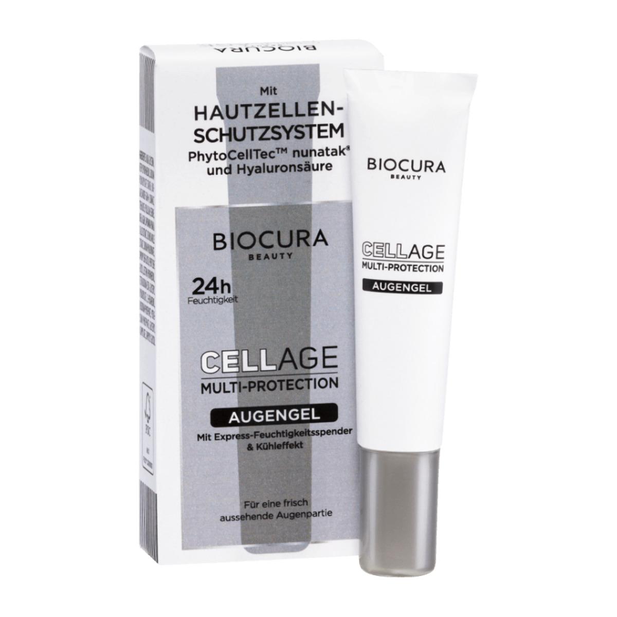 Bild 2 von BIOCURA     Cellage Multi-Protection Augengel/Intensiv Serum