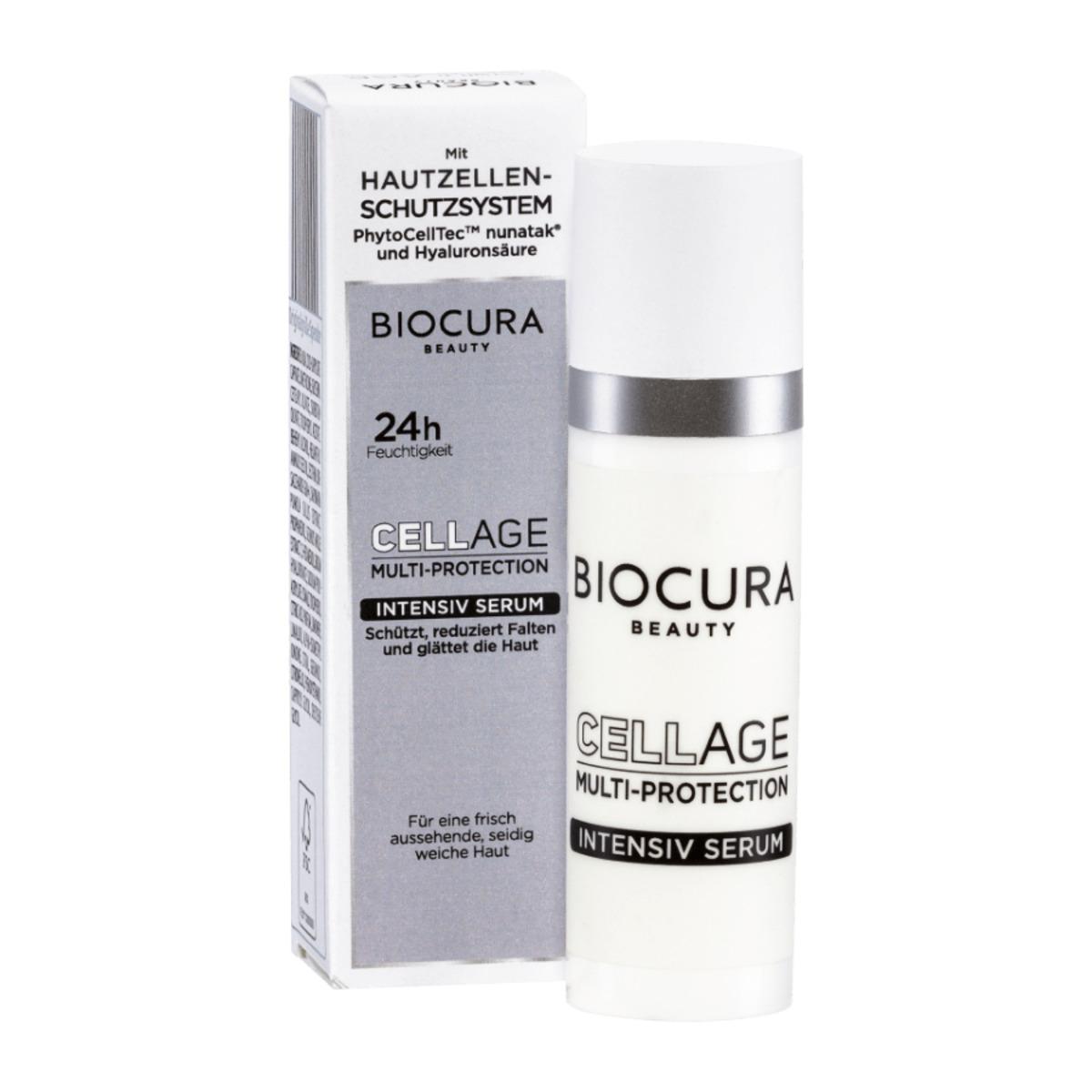 Bild 3 von BIOCURA     Cellage Multi-Protection Augengel/Intensiv Serum