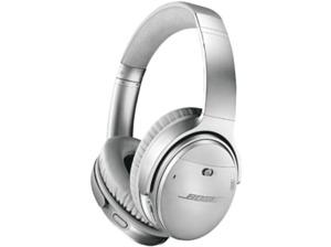 BOSE Quietcomfort 35 II, Over-ear Kopfhörer, Near Field Communication, Headsetfunktion, Bluetooth, Silber