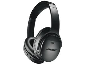 BOSE Quietcomfort 35 II, Over-ear Kopfhörer, Near Field Communication, Headsetfunktion, Bluetooth, Schwarz