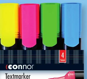 Textmarker 4er Set