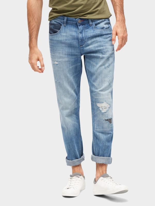 eb80a6f16213 Tom Tailor Jeanshosen Marvin Straight Jeans, light stone wash denim, 34 36