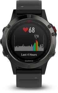 Garmin Smart Watch fenix 5 ,  grau/schwarz