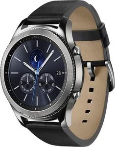 Samsung Smartwatch Gear S3 Classic ,  Edelstahl/leder