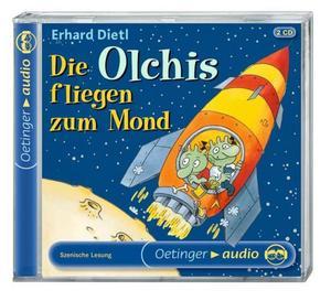 Die Olchis fliegen zum Mond. 2 CDs