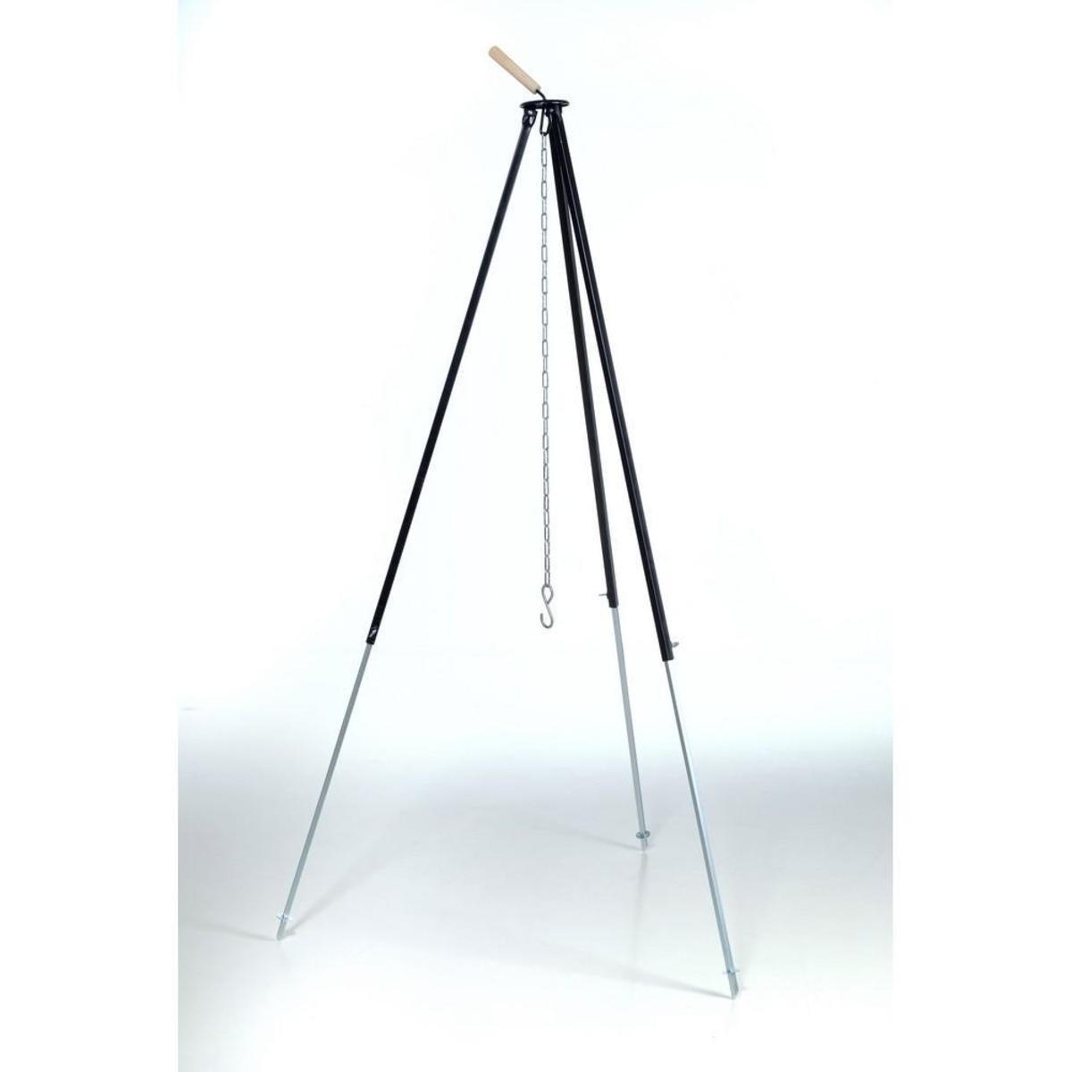 Bild 2 von acerto® Gulaschkessel 22 Liter + Dreibein 180cm