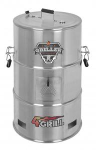 Batavia 4Grill Barrel Bbq Stainless Steel