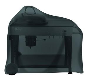 Tepro, Universal Abdeckhaube - Kugelgrillwagen, schwarz