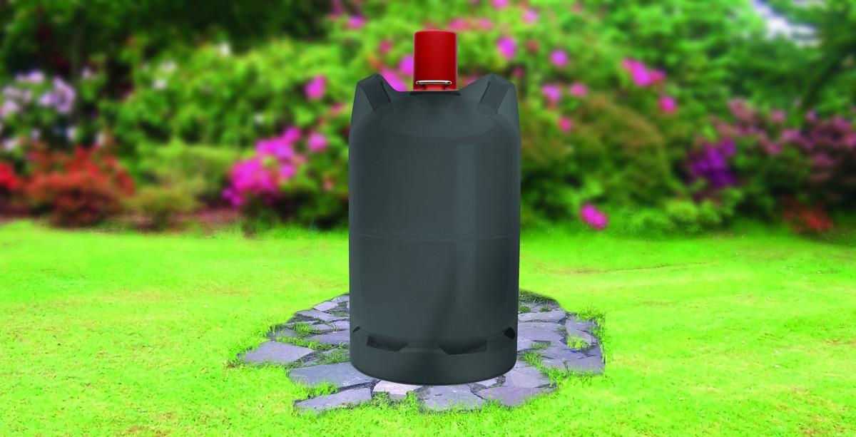 Bild 2 von Tepro, Universal Abdeckhaube - Gasflasche 5 kg, schwarz
