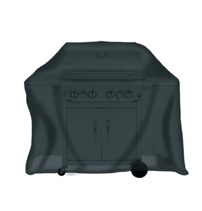 Tepro, Universal Abdeckhaube - für Gasgrill groß, schwarz