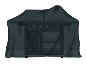 Tepro, Universal Abdeckhaube - für Gasgrill extra groß, schwarz