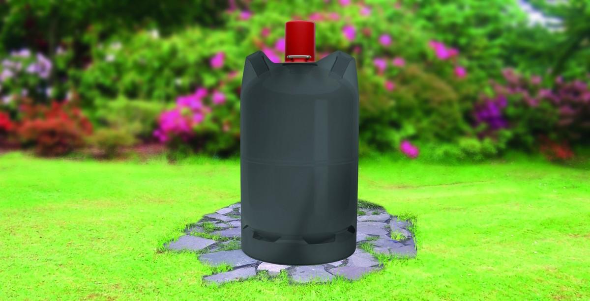 Bild 2 von Tepro, Universal Abdeckhaube - Gasflasche 11 kg, schwarz