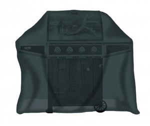 Tepro, Universal Abdeckhaube - für Gasgrill extra tief, schwarz