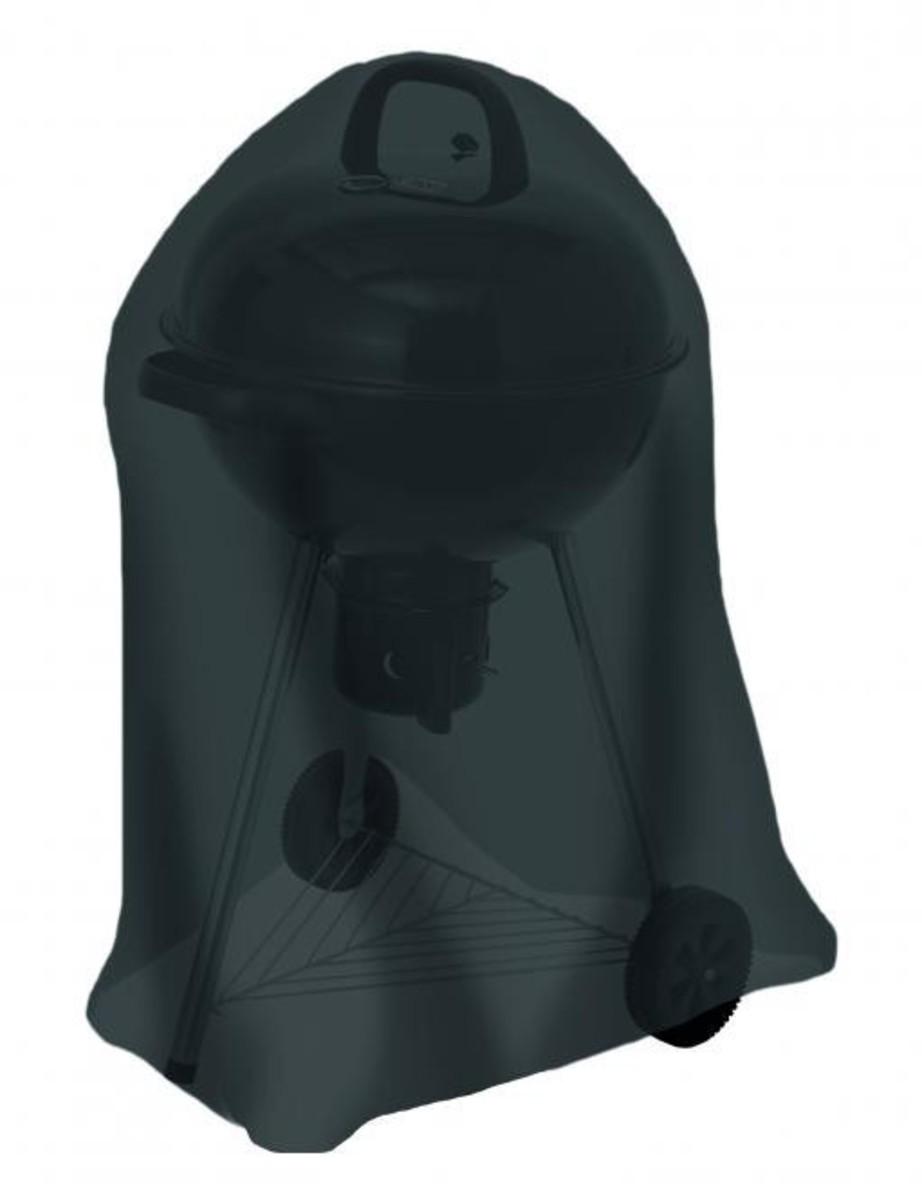Bild 1 von Tepro, Universal Abdeckhaube - für Kugelgrill groß, schwarz