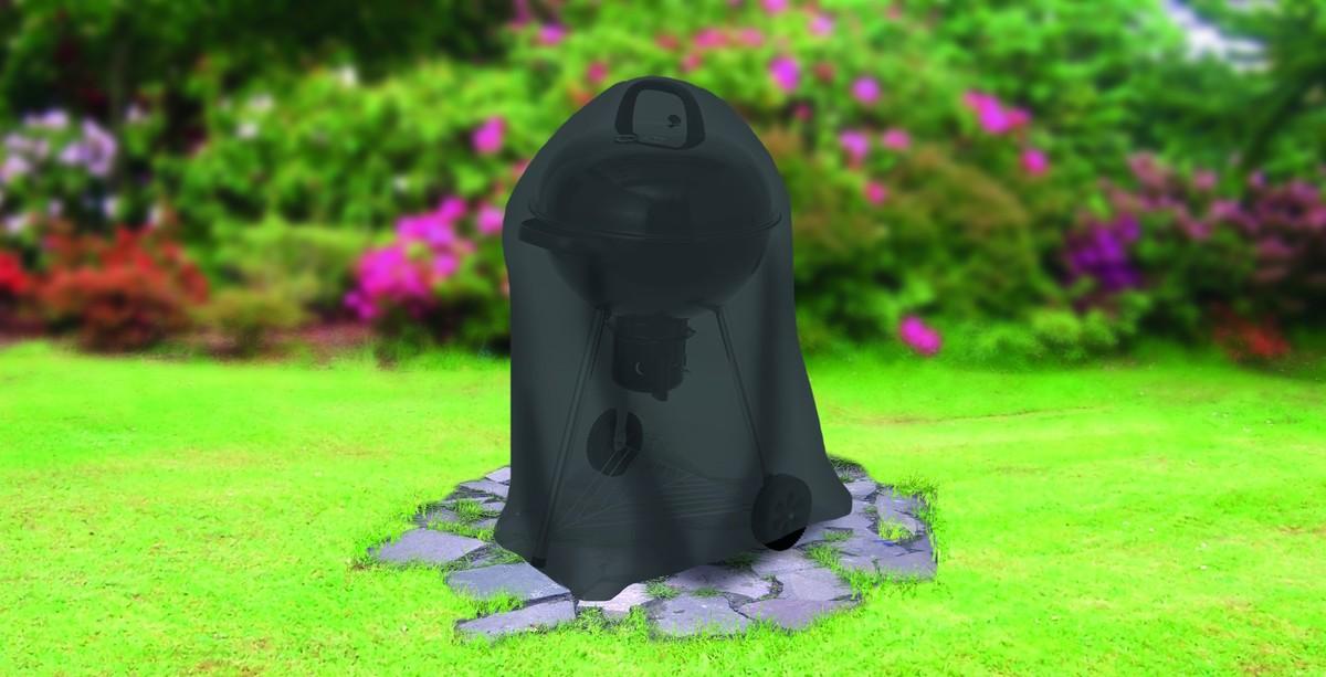 Bild 2 von Tepro, Universal Abdeckhaube - für Kugelgrill groß, schwarz