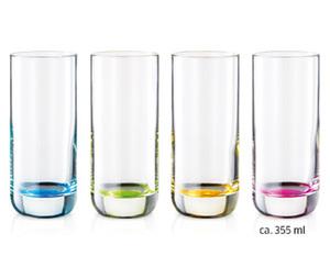CROFTON®  Wasser- oder Longdrinkgläser, 4er-Set