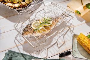 Hecht Fisch und Gemüsehalter Pescado