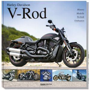 "Buch - ""Harley Davidson V-ROD""        156 Seiten"
