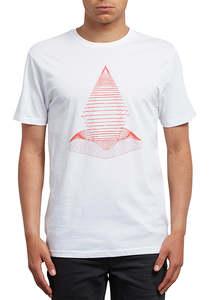 Volcom Digital Redux Basic - T-Shirt für Herren - Weiß