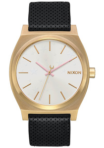 Nixon Medium Time Teller Lthr - Uhr für Damen - Mehrfarbig