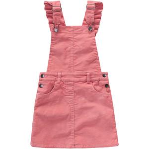 Mädchen Latzkleid aus Kord