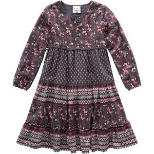 Mädchen Kleid im Patchwork-Design
