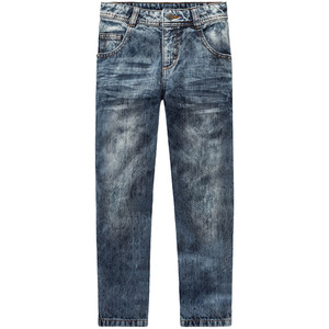 Jungen Straight Jeans im Moon-Washed-Look