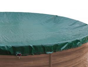 Grasekamp Abdeckplane rund für Pool bis 460 cm Winterabdeckplane
