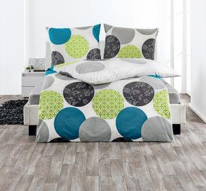 Dreamtex Edel Renforce Bettwäsche 135x200cm - Happy Circles