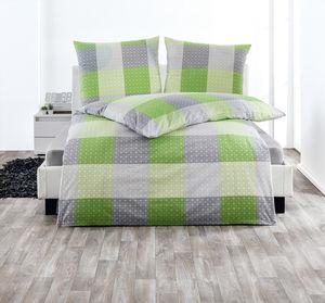 Dreamtex Edel Renforce Bettwäsche 135x200cm - Kiwi Design