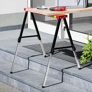 Kraft Werkzeuge Vario-Arbeitsbock, höhenverstellbar, 2er-Set