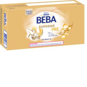 Nestlé BEBA Supreme Anfangsmilch Pre von Geburt an 32x70ml