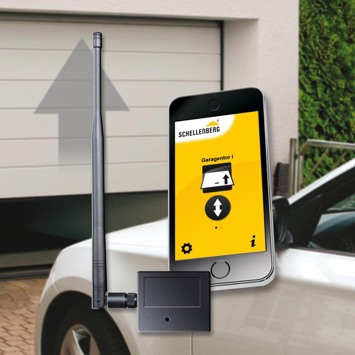 Bild 1 von Schellenberg Smartphone Garagentoröffner